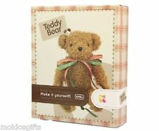 Your Own Make Teddy Bear Kit Craft Toy Soft Kids Build Christmas Sewing 000581