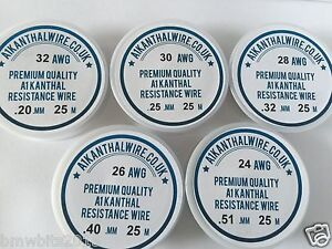 A1 kanthal 18 TO 34 (AWG).Resistance Wire  2M TO 50M Foam Cutting Pottery