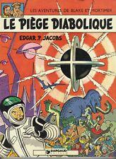 BD BLAKE ET MORTIMER T8 LE PIEGE DIABOLIQUE EDGAR JACOBS 1972 PORT PRIX COUTANT