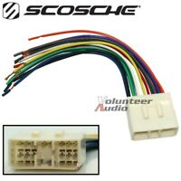 Mach Audio Car Stereo Cd Player Wiring Harness Wire Aftermarket Radio Install Ebay