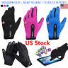Unisex Ski Cycling Motorcycle Touch Screen Thermal Windproof Warm Gloves Outdoor