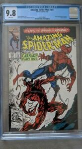 Amazing Spider-man #361 🕷 CGC 9.8 1st Carnage Bagley Venom Sequel 🔥