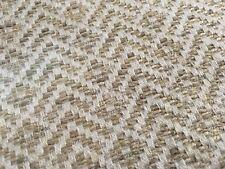Colefax Fowler Geometric Tweed Upholstery Fabric- Lambert Beige 1.50 yd F4135-07