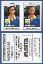 FIGURINA CALCIATORI PANINI 1989/90 - NUOVA - N.418 CAMPANELLA/GNOFFO - LICATA