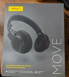 Jabra GN MOVE Wireless Over-Ear Headphones OTE21 Black BRAND NEW