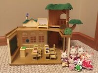 Calico Critters Sylvanian Families Country Tree School  with Students Teacher 6