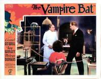 OLD MOVIE PHOTO The Vampire Bat Lobby Card Lionel Atwill Fay Wray Melvyn