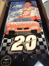 Nascar Clock Tony Stewart Home Depot Jebco Clock Limited Joe Gibbs Racing