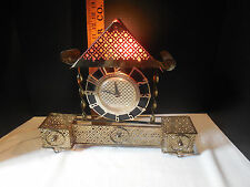 SPARTUS Electric Clock Mid Century Modern