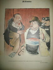 LE SOURIRE N° 30 JOURNAL CARICATURE DESSINS BIDING VILLEMOT HUARD GRÜN 1900