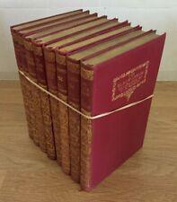 R L Stevenson 8 book set/collection. 1928 Macmillan Pocket Classic, 1st Printing