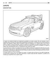 manuel atelier entretien réparation technique maintenance Chrysler Crossfire  Fr
