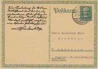 DEUTSCHES REICH 1929 8 (+7) Pf. Sonderpostkarte 80. Geburtstag von Hindenburg