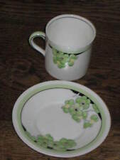 Porcelain/China Saucer Green Royal Doulton Porcelain & China