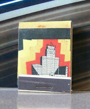 Rare Vintage Matchbook W9 Circa 1940 Lion Match New York Awesome Design Cool