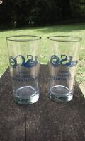 Ford Motor Co Automobile UAW Npdc ISO 9002 Collectible Drink Glass Set Of 2