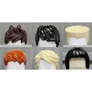 LEGO Ninjago Minifigure HAIR Lot - Authentic Kai Jay Zane Cole Lloyd Nya Lot