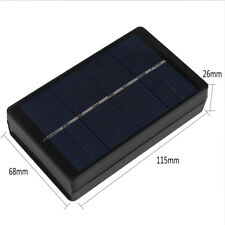 1W 4V Solar Panel Battery Charger Box For 2AA/AAA 1 Batteries Power Supply JA