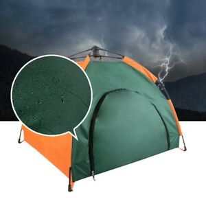 Waterproof Pet Tent Semi-Automatic Foldable Cat Dog Portable Polyester House