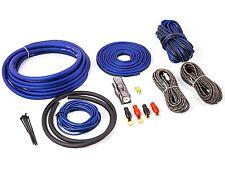 25 mm² 4 GAUGE KIT DI CABLAGGIO DEL CANALE 4 completa 2 altoparlante RCA e cavi SUB 2500 W