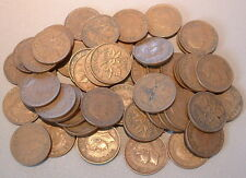 CANADA  1 CENT 1952 VG to F+ ****50 pcs lot*****