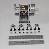 1:10 Model Car Engine Gearbox w/ Pulley Rack&Screw Glue for Toyan FS-S100/G/W/GW