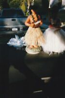 DASHBOARD DANCERS Abstract FOUND PHOTO Color FREE SHIPPING Vintage HULA 85 16