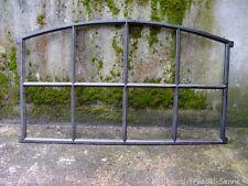 Gussfenster schwarz Stallfenster mit Bogen 92x54 Fe2301s
