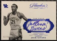 """2017-18 Flawless Collegiate Jack """"Goose"""" Givens Auto Sapphire 02/20"""