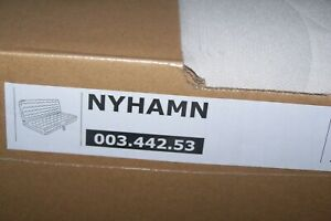 Ikea cover set for NYHAMN 3-Seat Sofa Bed in Borred Light Beige 003.442.53