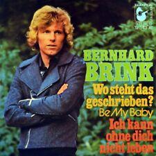"""7"""" BERNHARD BRINK Wo steht das geschrieben? RONETTES Be My Baby HANSA orig. 1972"""