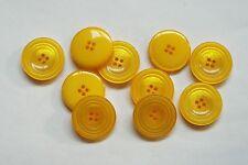 8pc 25mm amarillo canario Abrigo Chaqueta Cardigan Pantalón Niño botón 0819