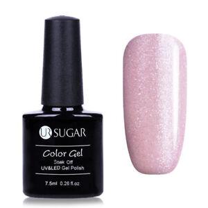 7.5ml Soak Off UV Gel Polish Magnetic Iridescent Nail Gel Varnish UR SUGAR
