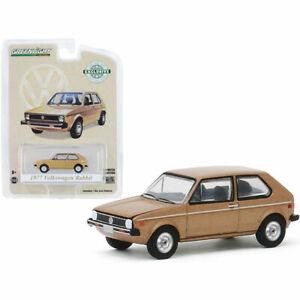 GREENLIGHT 1977 VOLKSWAGEN RABBIT CHAMPAGNE MET. 1/64 DIECAST MODEL CAR 30099
