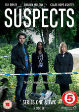 Suspects: Complete Series 1&2 Dvd Fay Ripley Brand New & Factory Sealed