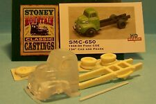SMC-650 1948-50 Ford COE  HO-1/87th Scale Clear Resin Kit  (unfinished)