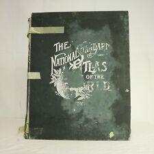 The Natonal Standard Atlas of the World 1898 Fort Dearborn Publishing HC