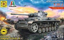 1/72 Scale model. German tank T-IIIJ