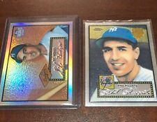 2002 Topps Chrome 1952 Reprints Gil Hodges Brooklyn Dodgers