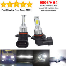 9006 HB4 LED Fog Driving Light Bulbs Kit Super Bright Premium 35W 6000K White