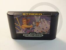 !!! Sega Genesis juego Strider solo módulo, usados pero bien!!!
