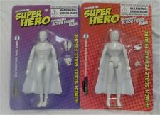 Set of 2 Create Your Own 6 inch Superhero male/female