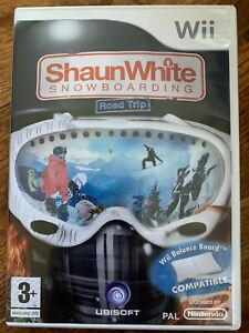 Shaun White Snowboarding Road Trip for Wii Nintendo Snowboard Game