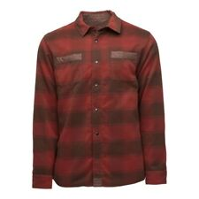 Flylow Sinclair Insulated Flannel - Men's - XX-Large, Bison/Barn