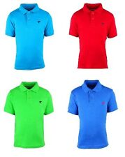 NEW BOYS KIDS WRANGLER POLO SHIRT BLUE GREEN RED CHEAP AGE 2 3 4 5 6 7 8 9 10 11