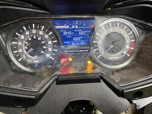 2019 Honda NSS Forza clock-speedo