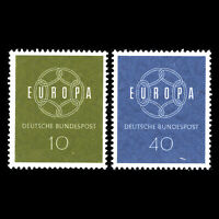 Germany 1959 - EUROPA Stamps - Sc 805/6 MNH