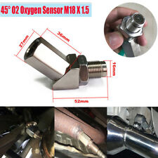 Car O2 Oxygen Sensor Catalytic Exhaust Spacer Adapter Bung Check Engine Light