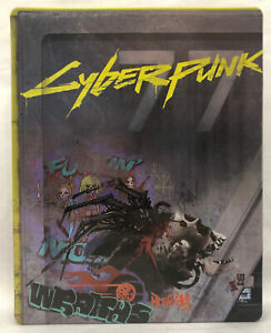 Cyberpunk 2077 PS4/Xbox One Collectors Steelbook Only *NO GAME*