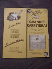 carte Michelin 38 Grandes Carreteras Espagne Portugal , 1951 2